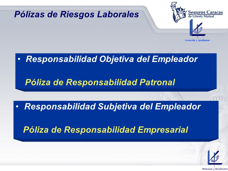Pólizas de Riesgos Laborales