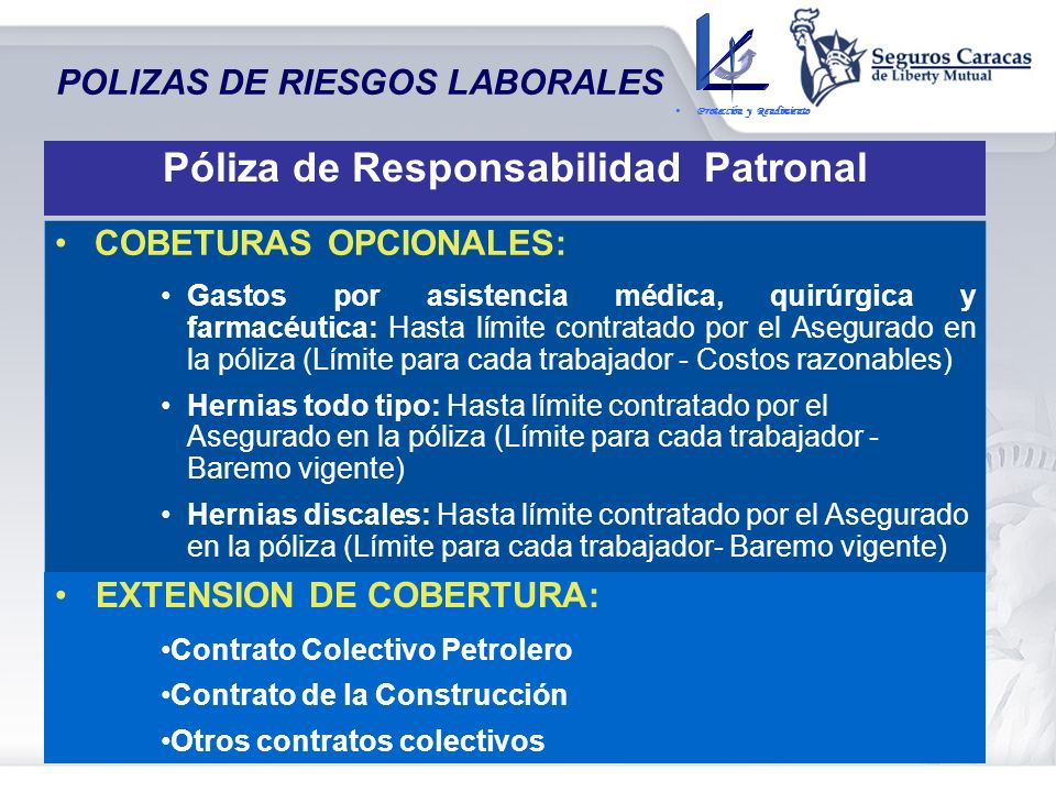 Póliza de Responsabilidad Patronal