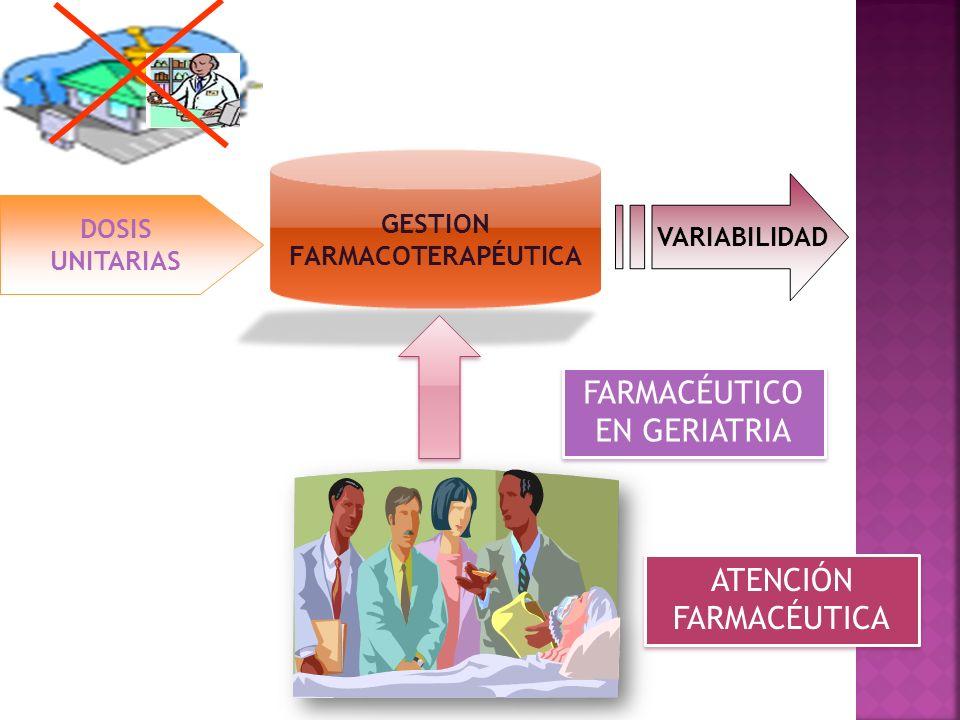 GESTION FARMACOTERAPÉUTICA