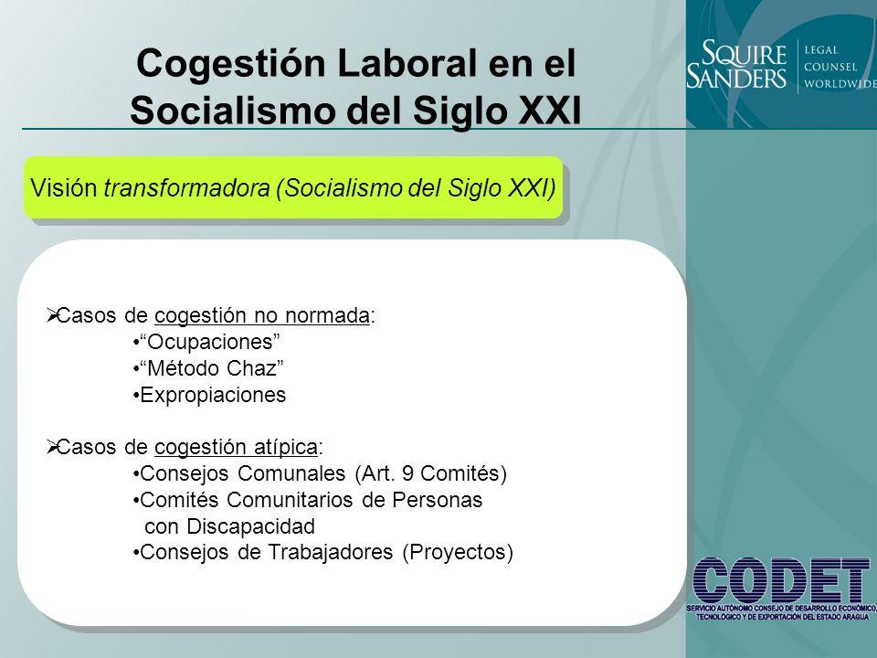 Cogestión Laboral en el Socialismo del Siglo XXI