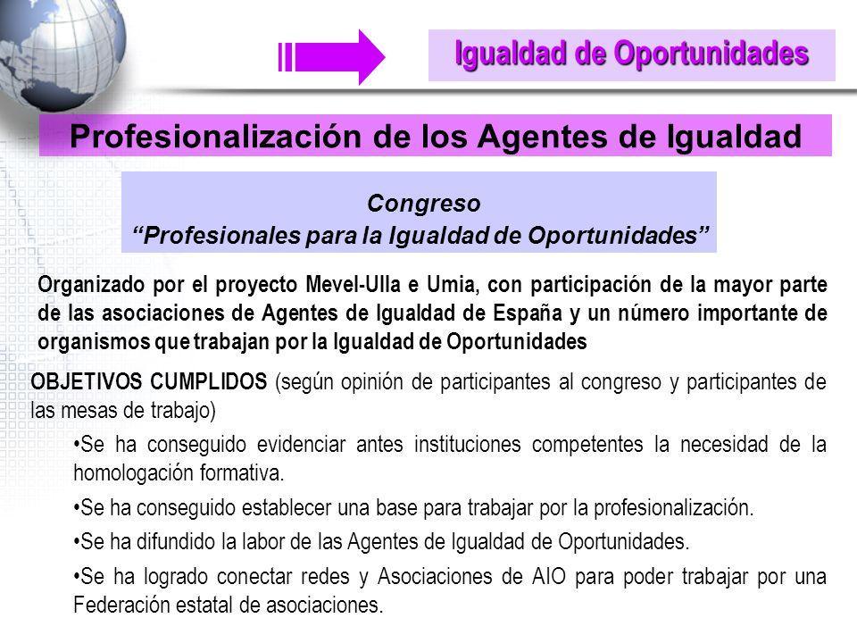 Congreso Igualdad de Oportunidades