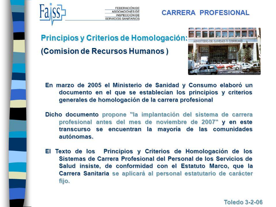 Principios y Criterios de Homologación: