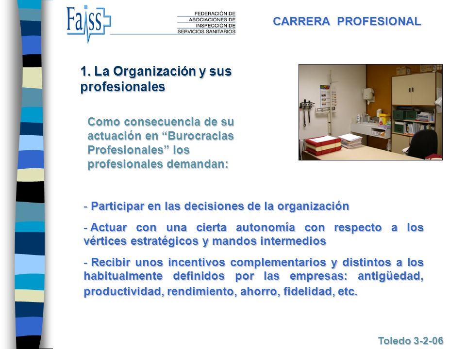 1. La Organización y sus profesionales