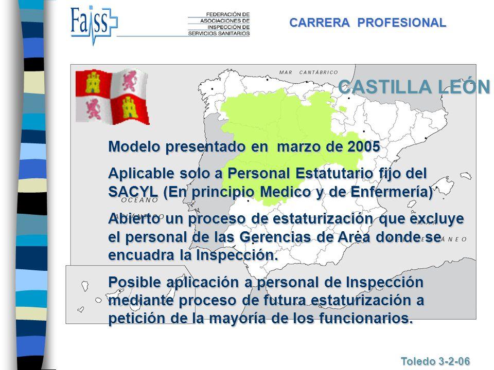CASTILLA LEÓN Modelo presentado en marzo de 2005