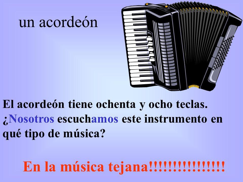 un acordeón En la música tejana!!!!!!!!!!!!!!!!