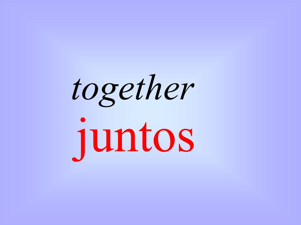 together juntos