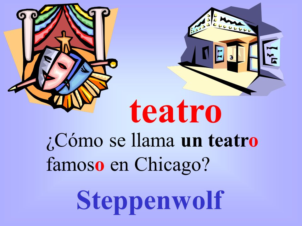 teatro ¿Cómo se llama un teatro famoso en Chicago Steppenwolf
