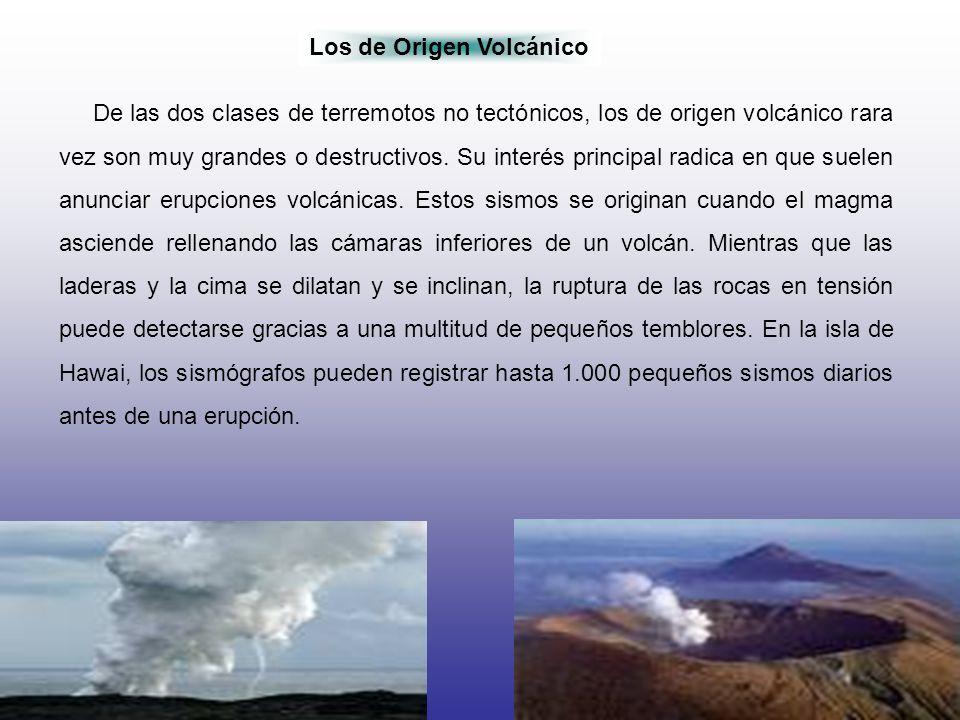 Los de Origen Volcánico