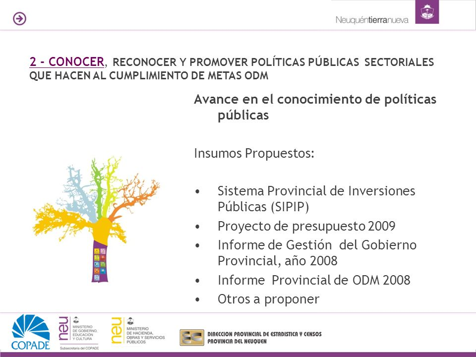 Avance en el conocimiento de políticas públicas