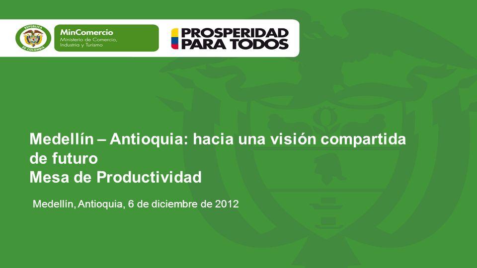 Medellín – Antioquia: hacia una visión compartida de futuro