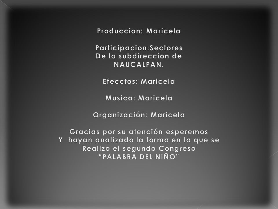 Participacion:Sectores De la subdireccion de NAUCALPAN.