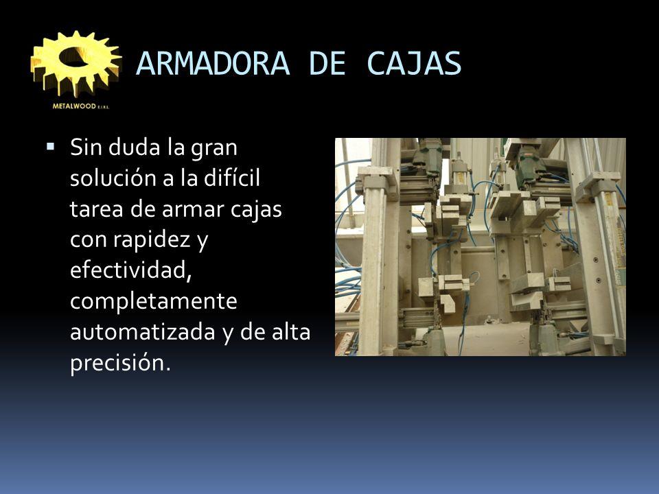 ARMADORA DE CAJAS
