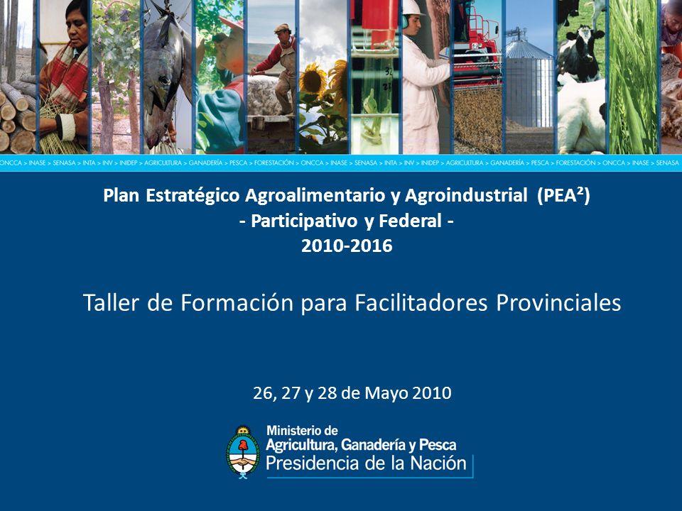 Taller de Formación para Facilitadores Provinciales