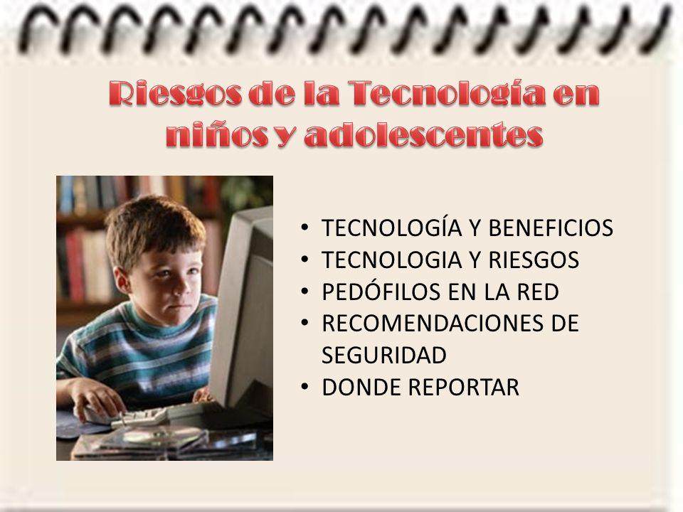 Riesgos de la Tecnología en niños y adolescentes