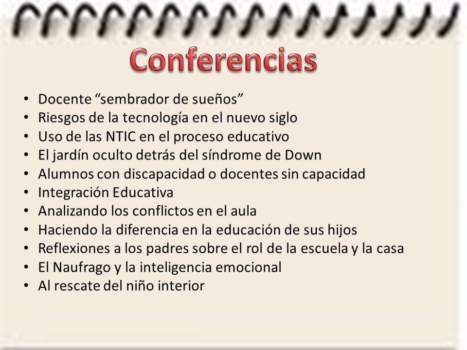 Conferencias Docente sembrador de sueños