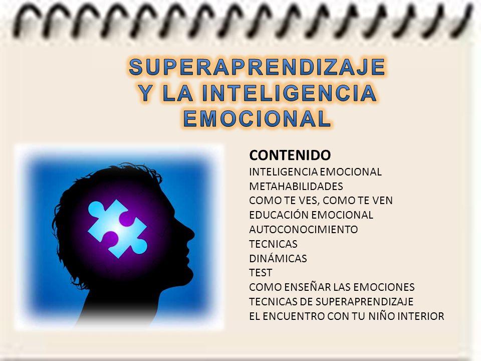 SUPERAPRENDIZAJE Y LA INTELIGENCIA EMOCIONAL