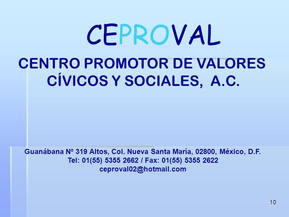 Guanábana Nº 319 Altos, Col. Nueva Santa María, 02800, México, D.F.