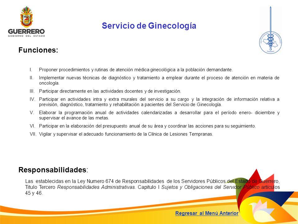 Servicio de Ginecología