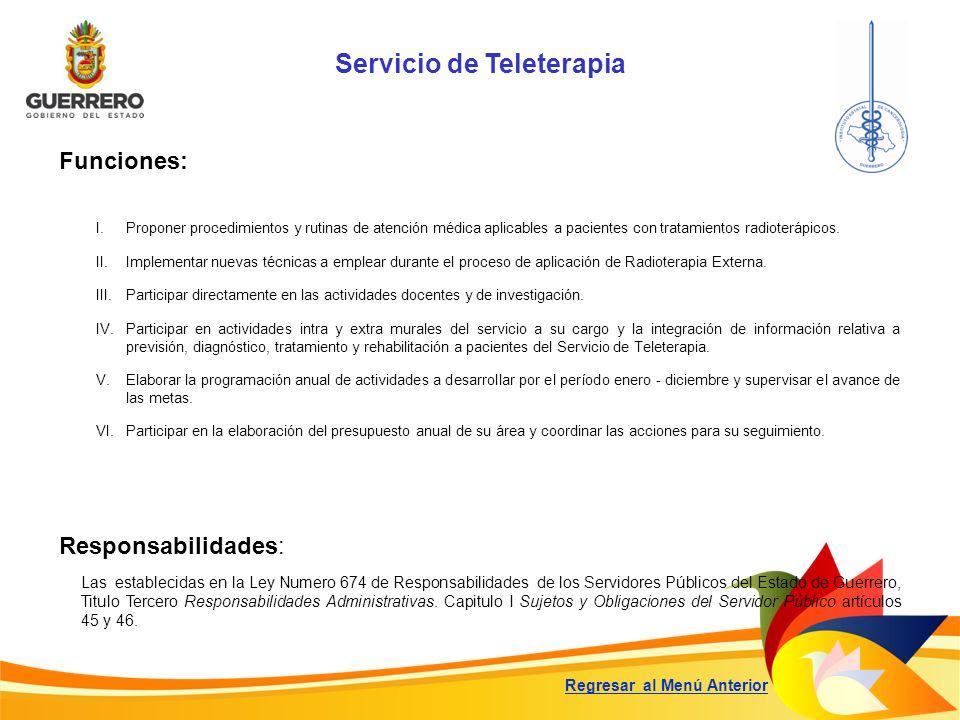 Servicio de Teleterapia