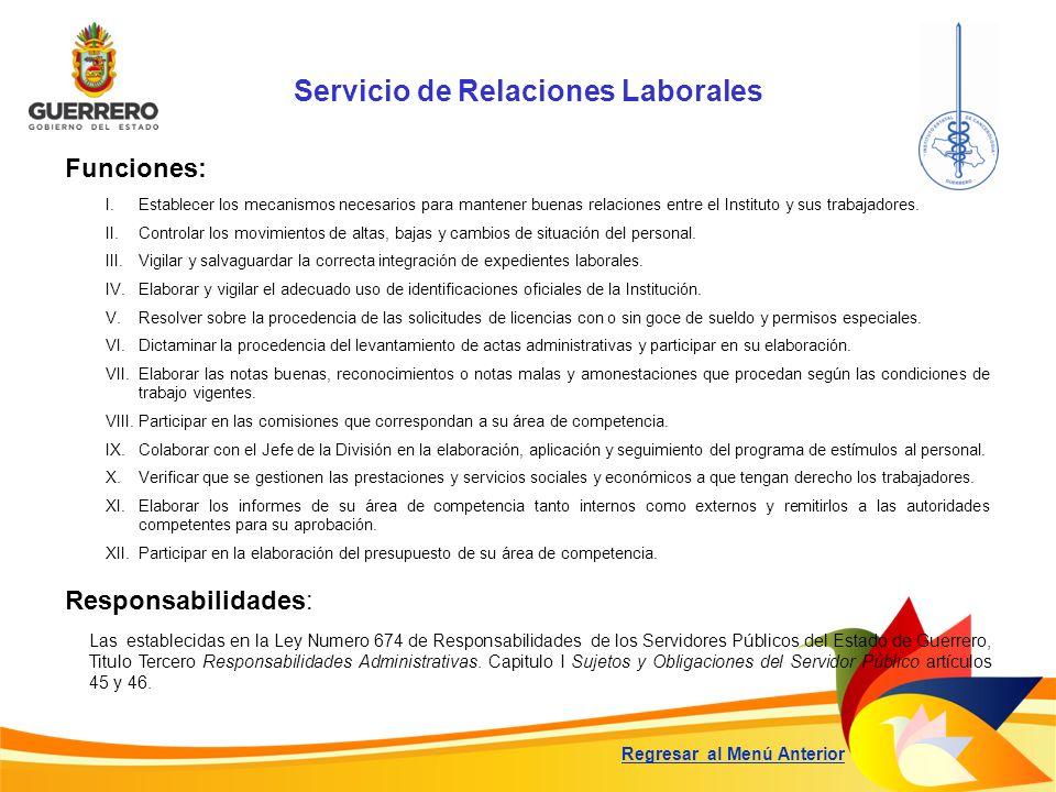 Servicio de Relaciones Laborales