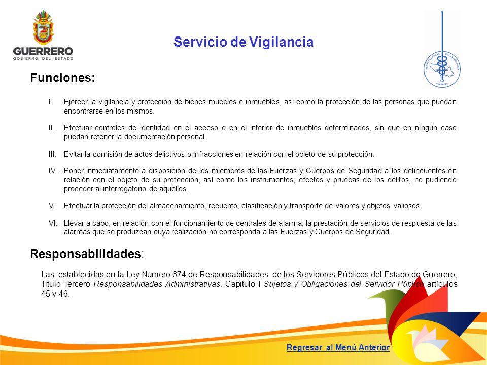 Servicio de Vigilancia