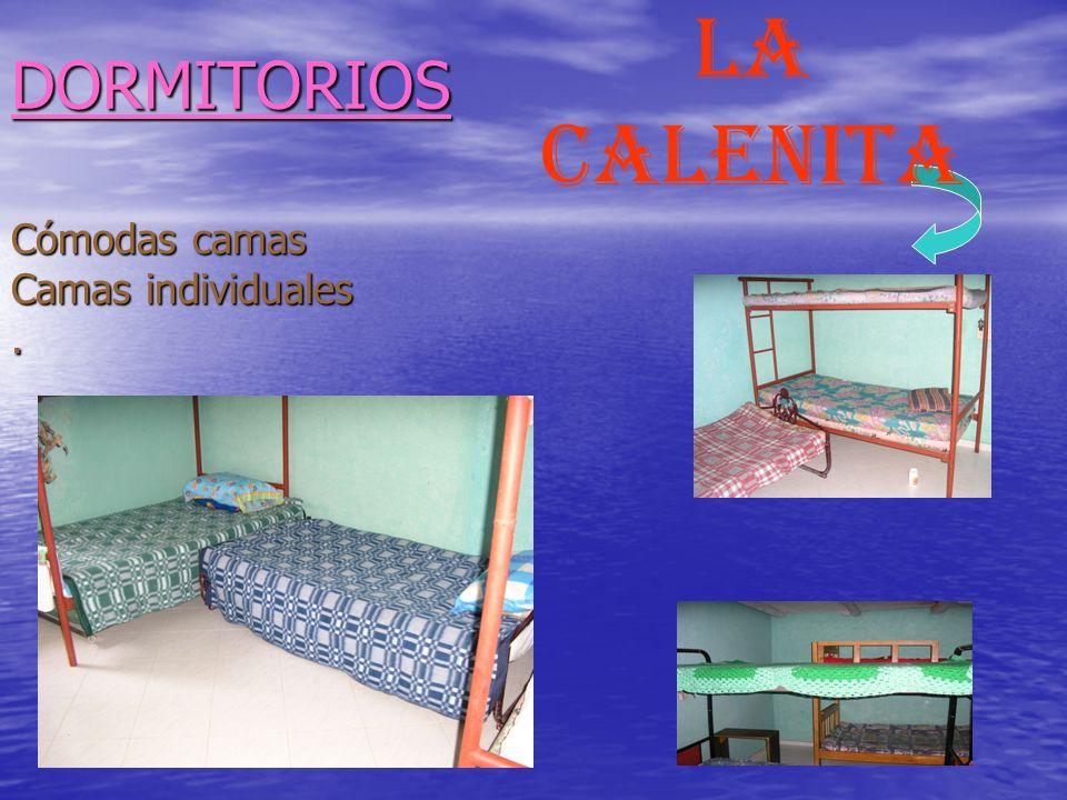 DORMITORIOS LA calenita Cómodas camas Camas individuales .