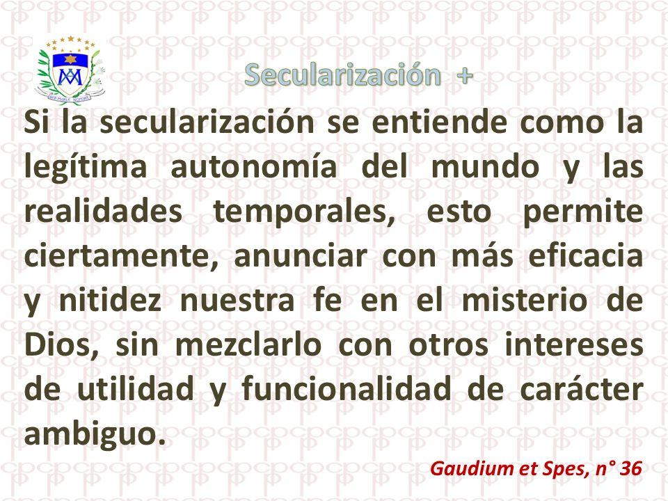 Secularización +