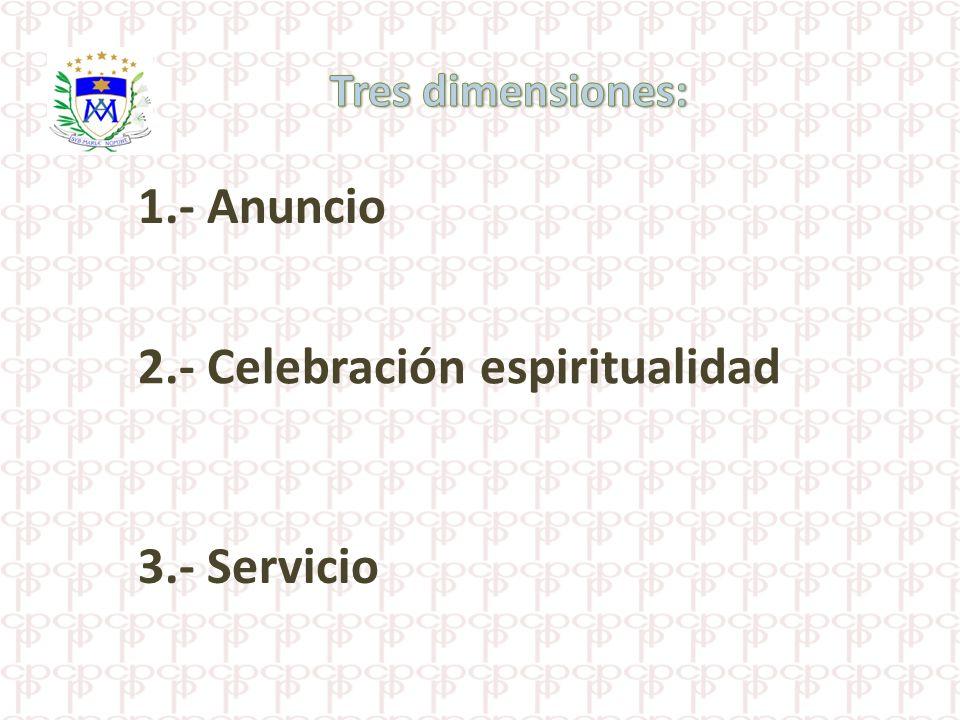 2.- Celebración espiritualidad
