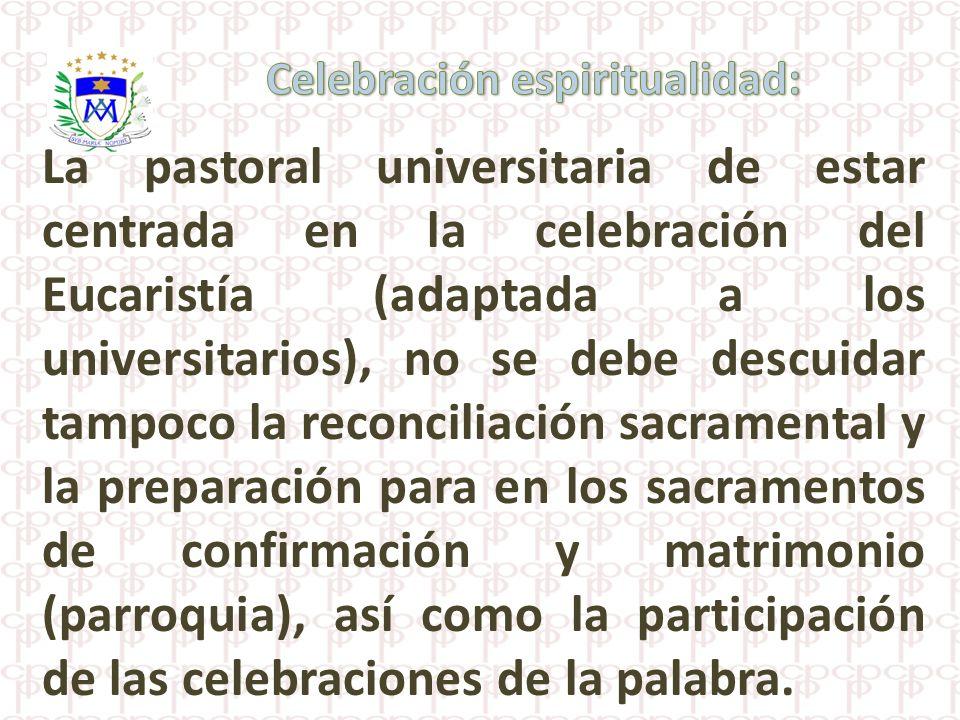 Celebración espiritualidad: