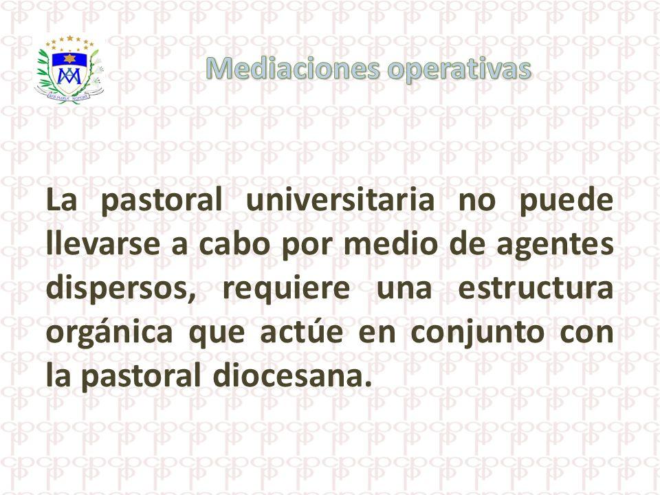 Mediaciones operativas