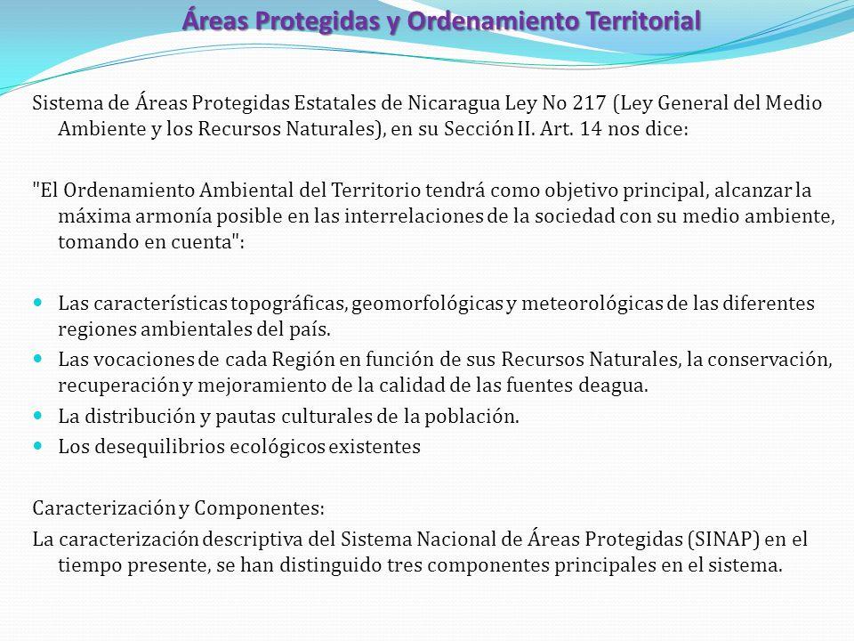 Áreas Protegidas y Ordenamiento Territorial