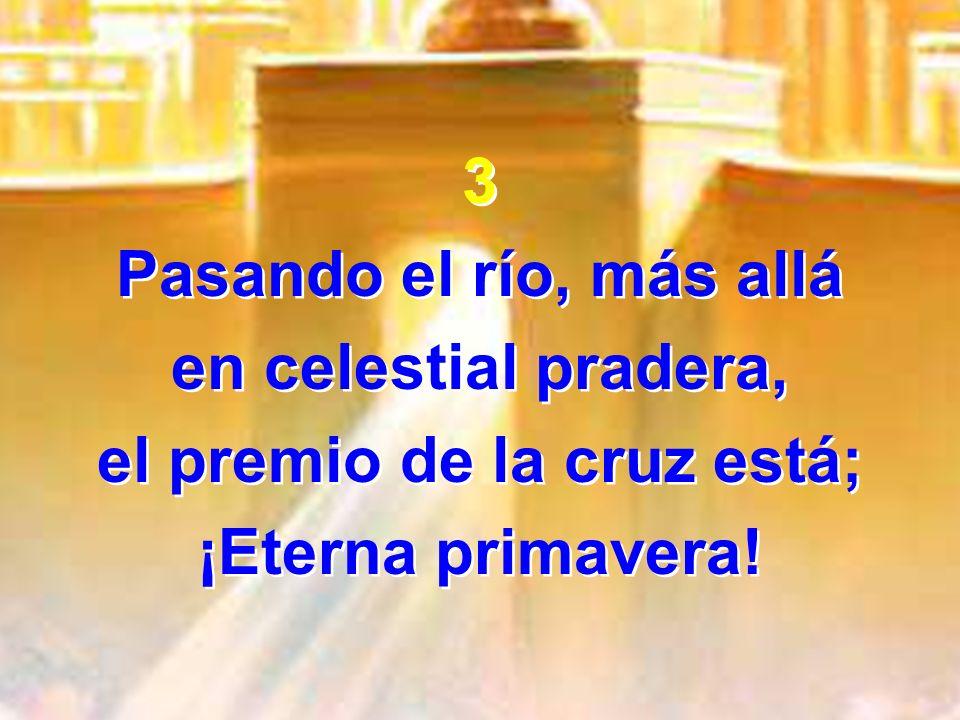 el premio de la cruz está;