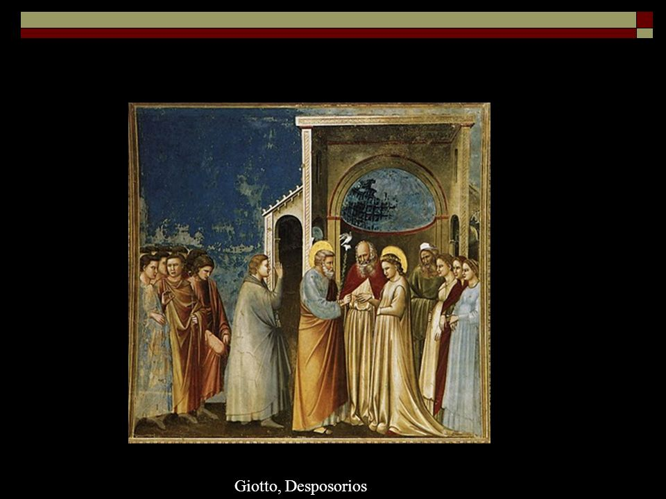 Giotto, Desposorios