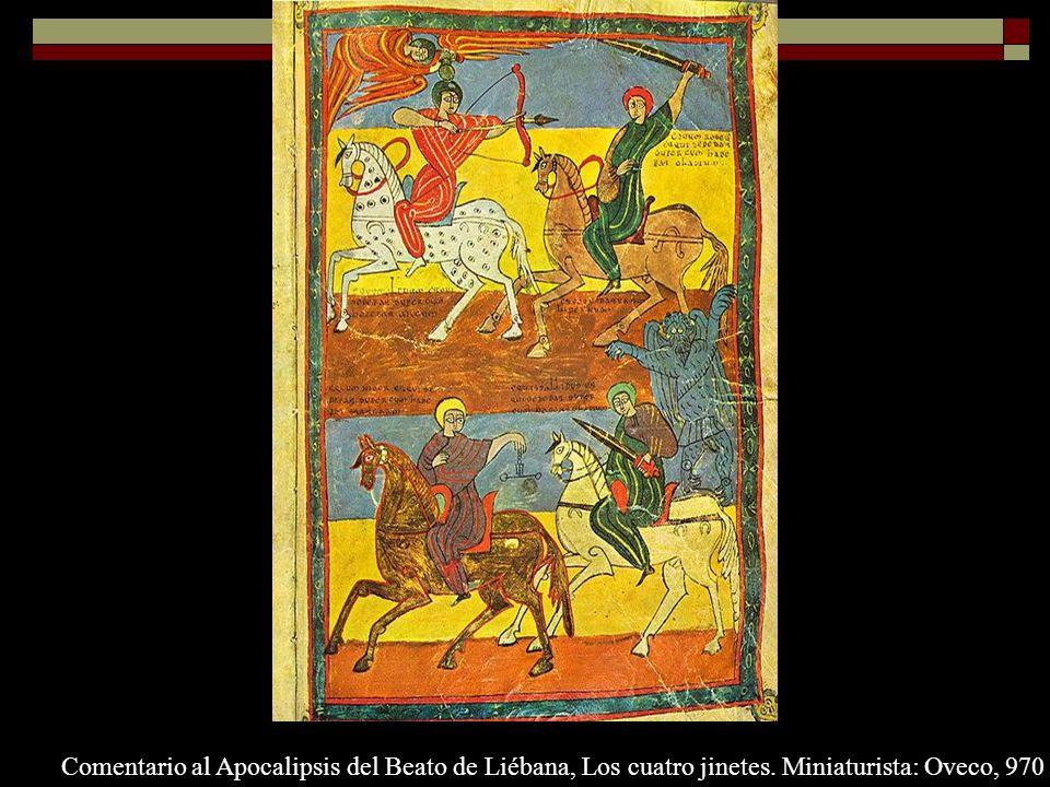 Comentario al Apocalipsis del Beato de Liébana, Los cuatro jinetes