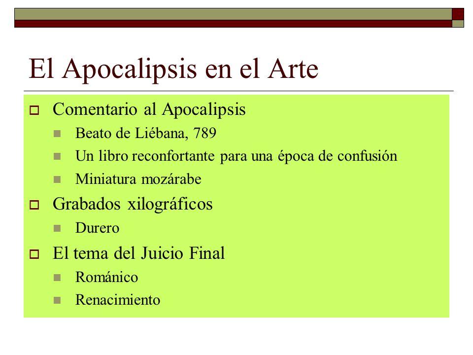 El Apocalipsis en el Arte