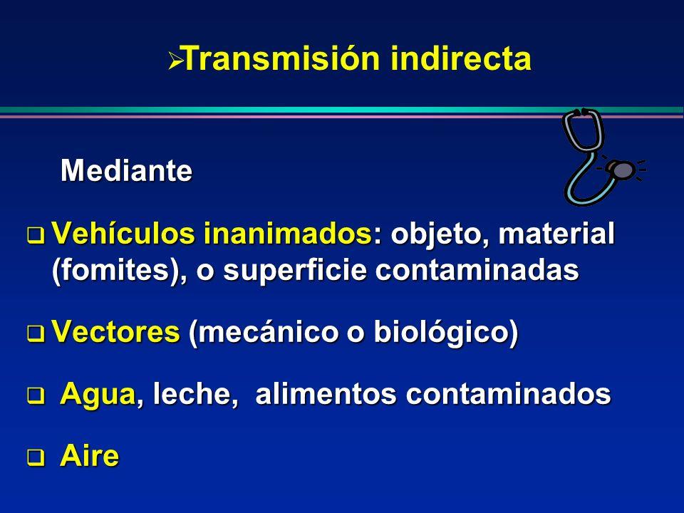 Transmisión indirecta