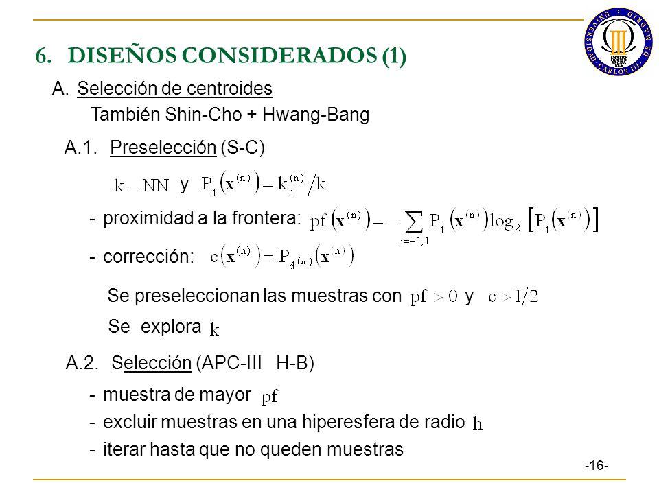 6. DISEÑOS CONSIDERADOS (1)