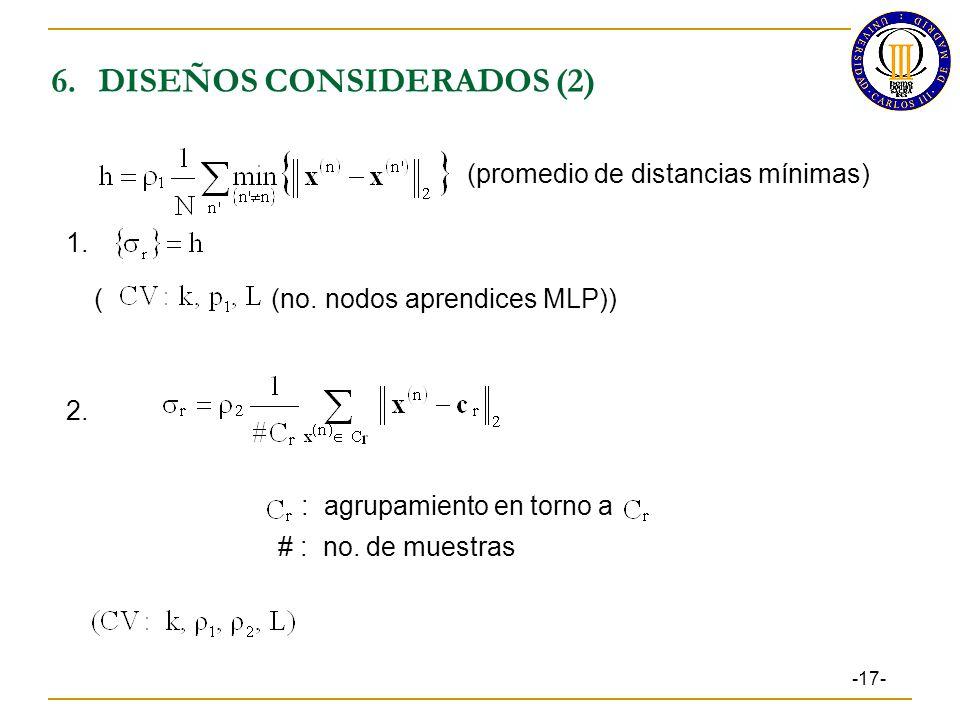 6. DISEÑOS CONSIDERADOS (2)