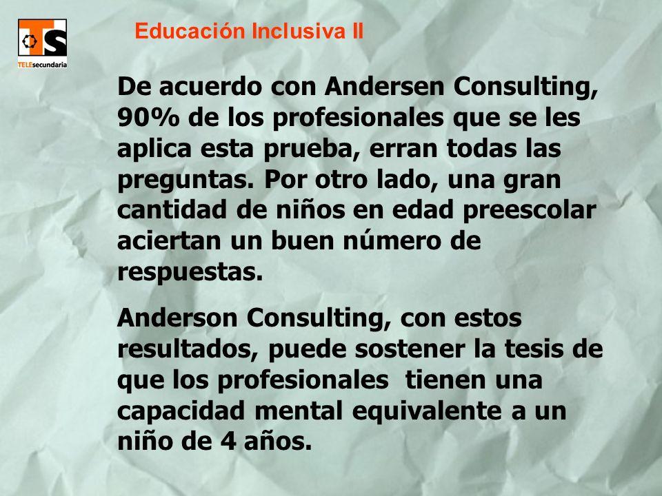 Educación Inclusiva II