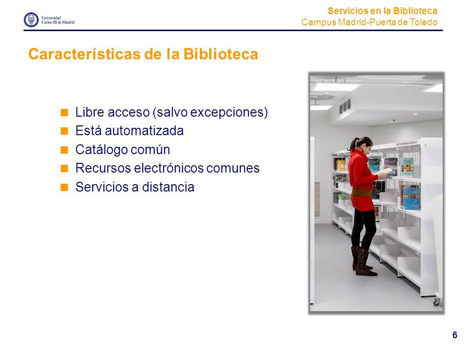 Características de la Biblioteca