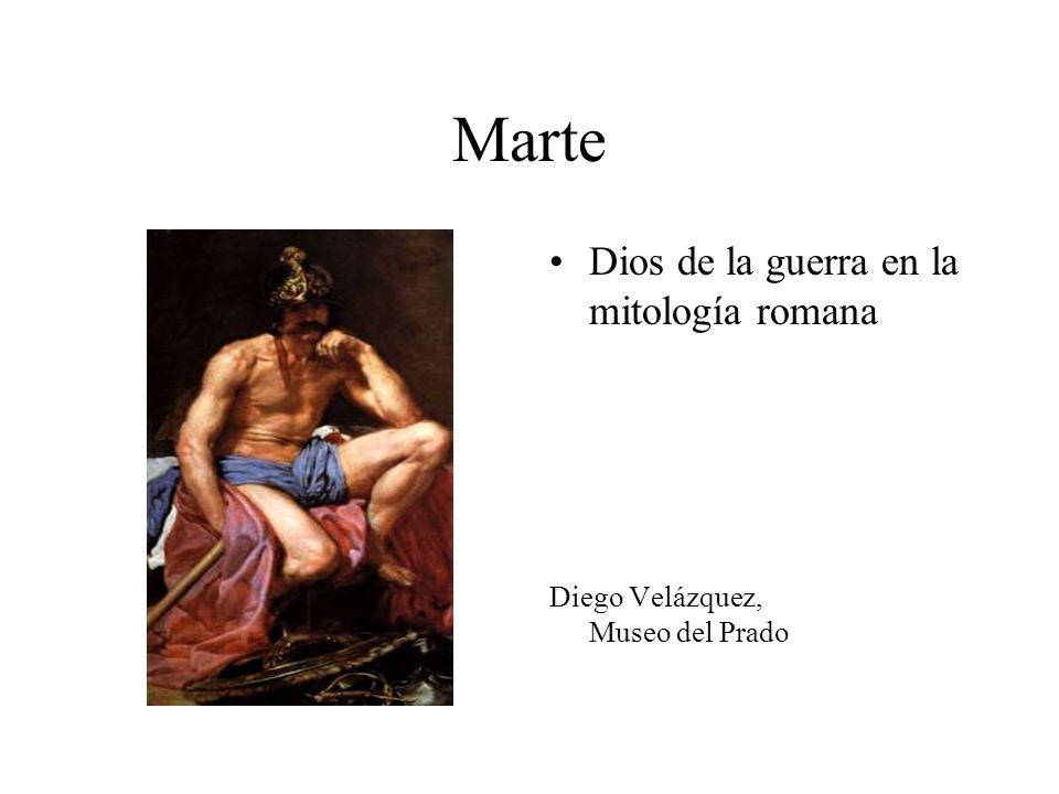 Marte Dios de la guerra en la mitología romana