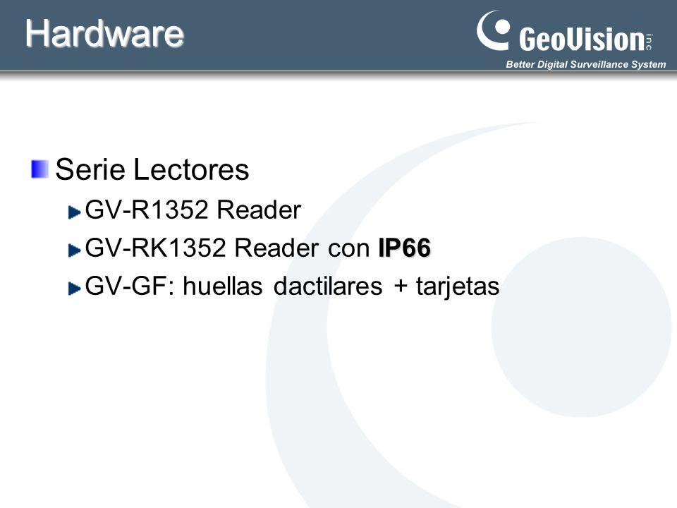 Hardware Serie Lectores GV-R1352 Reader GV-RK1352 Reader con IP66