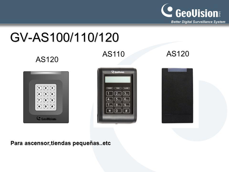 GV-AS100/110/120 AS110 AS120 AS120 Para ascensor,tiendas pequeñas..etc