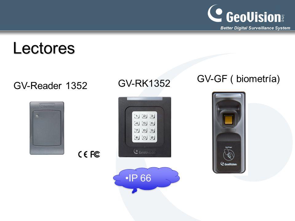 Lectores GV-GF ( biometría) GV-RK1352 GV-Reader 1352 IP 66