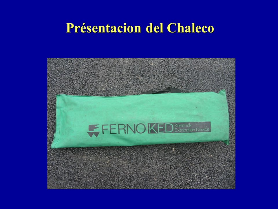Présentacion del Chaleco