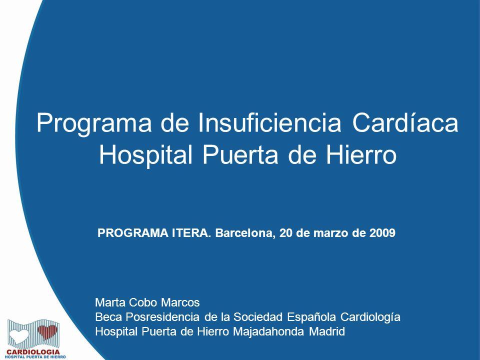 Programa de insuficiencia card aca hospital puerta de - Hospital puerta de hierro majadahonda ...