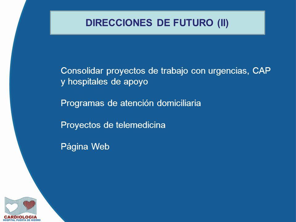 DIRECCIONES DE FUTURO (II)