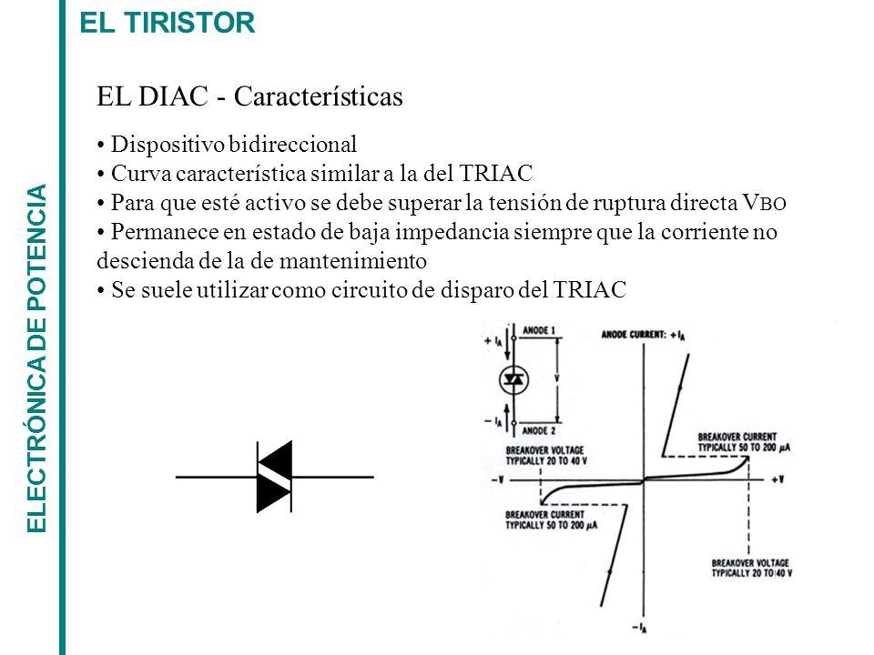 EL DIAC - Características
