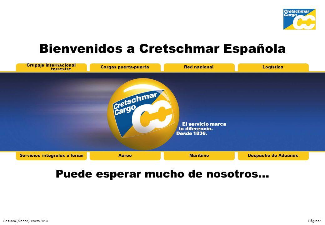 Bienvenidos a Cretschmar Española