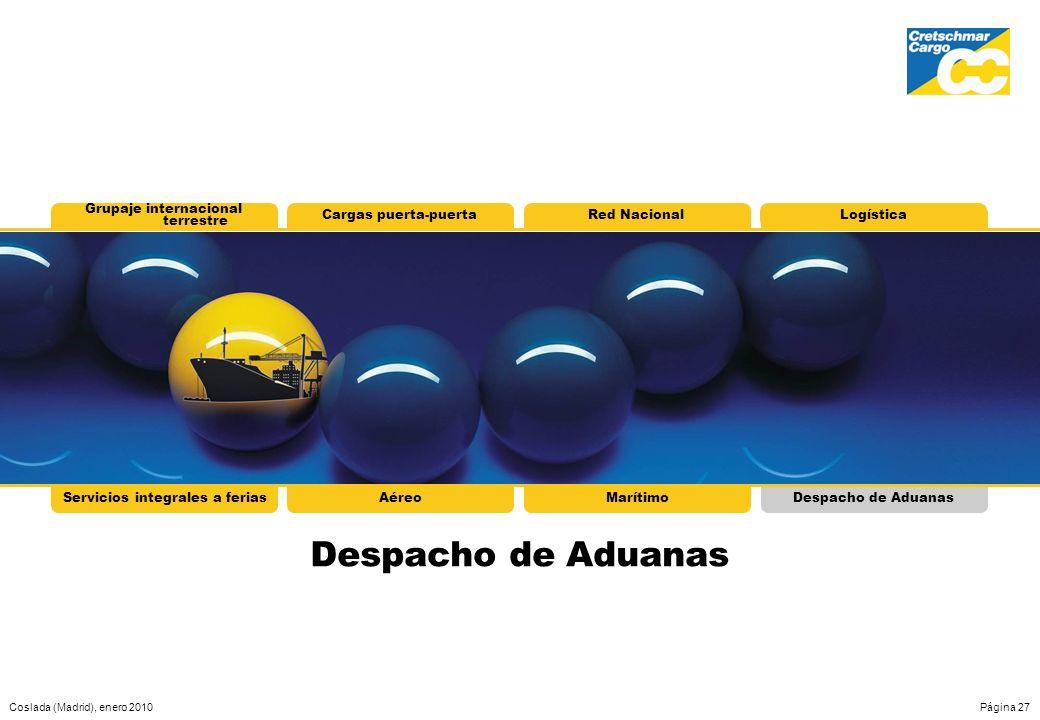 Despacho de Aduanas Grupaje internacional terrestre